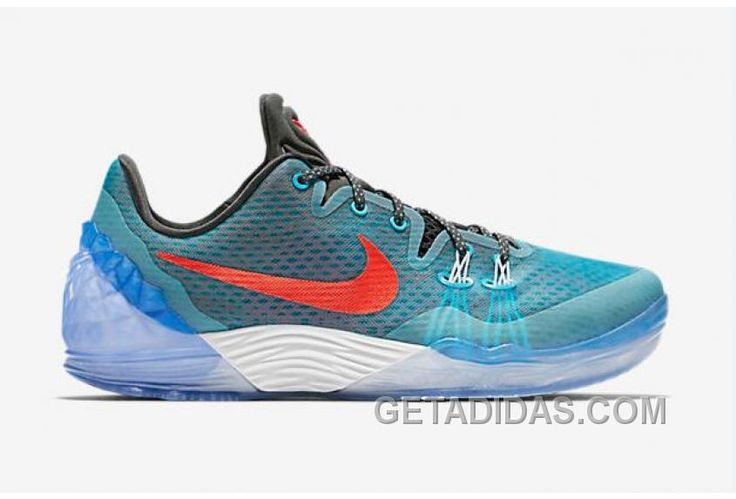 """http://www.getadidas.com/nike-kobe-venomenon-5-ep-chlorine-blue-mens-basketball-shoes-online.html NIKE KOBE VENOMENON 5 EP """"CHLORINE BLUE"""" MENS BASKETBALL SHOES ONLINE Only $96.00 , Free Shipping!"""