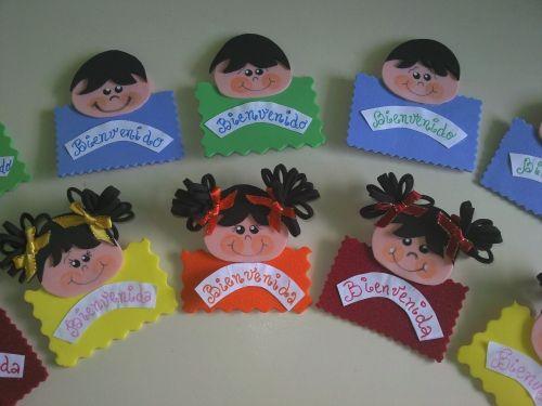 Distintivos de foami escolares - Imagui