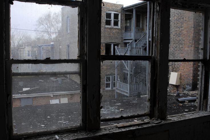 Apartment inside poor