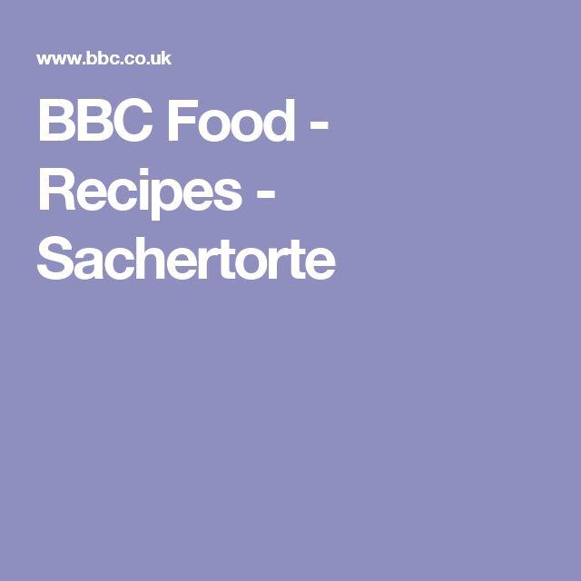 BBC Food - Recipes - Sachertorte