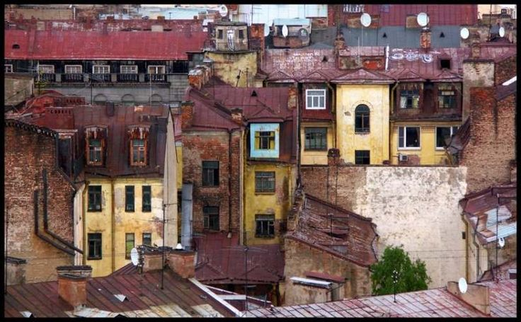 Крыши Питера (Наталия Соколовска..