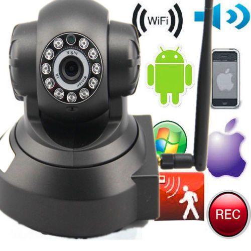 Wireless IP Camera Pan/Tilt Memory Storage P2P Night Vision wifi Indoor Webcam