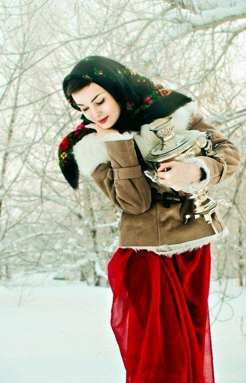 Russian beautiful woman