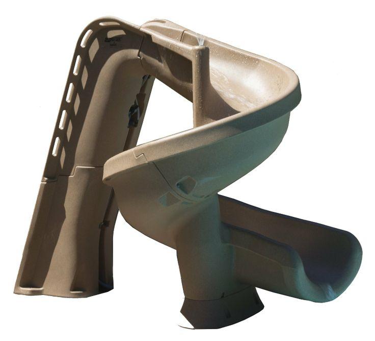 Amazon.com: heliX 640-209-58123 S.R.Smith Pool Slide, Sandstone: Patio, Lawn & Garden