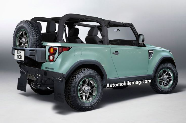 2019 Land Rover Defender illustration rear three quarter