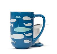 Heat Sensitive Whales Nordic Mug (David's Tea) AMAZING! I'm still a kid at heart when it comes to things like this... :)