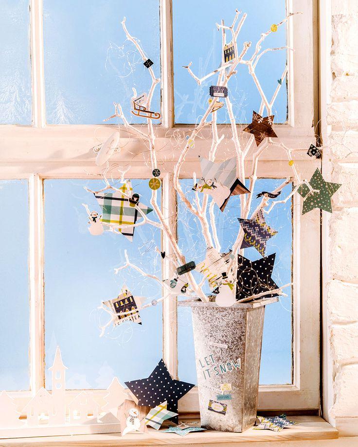 20 besten basteln mit moosgummi ideen mit anleitung bilder auf pinterest klick besuchen und - Stylische weihnachtsdeko ...