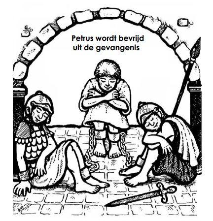 Pertus Wordt Bevrijd Uit De Gevangenis Nieuwe Testament