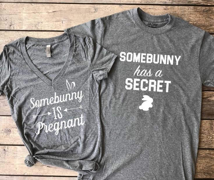 Somebunny is Pregnant | Pregnancy Announcement Duo, Easter pregnancy announcement, easter baby reveal, baby announcement, holiday baby annoucement #pregnancyannouncementonesie,