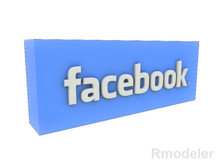 FaceBook 3d Logo 3D Model- Facebook is a social networking service and website launched in February 2004, operated and privately owned by Facebook, Inc. As of January 2011, Facebook has more than 600 million active users. Users may create a personal profile, add other users as friends, and exchange messages, including automatic notifications when they update their profile. Additionally, users may join common-interest user groups, organized by workplace, school or college, or other…