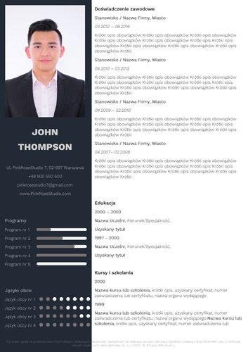 Szablon CV Ben http://bestcv.eu/szablon-cv-list-motywacyjny-referencje-ben