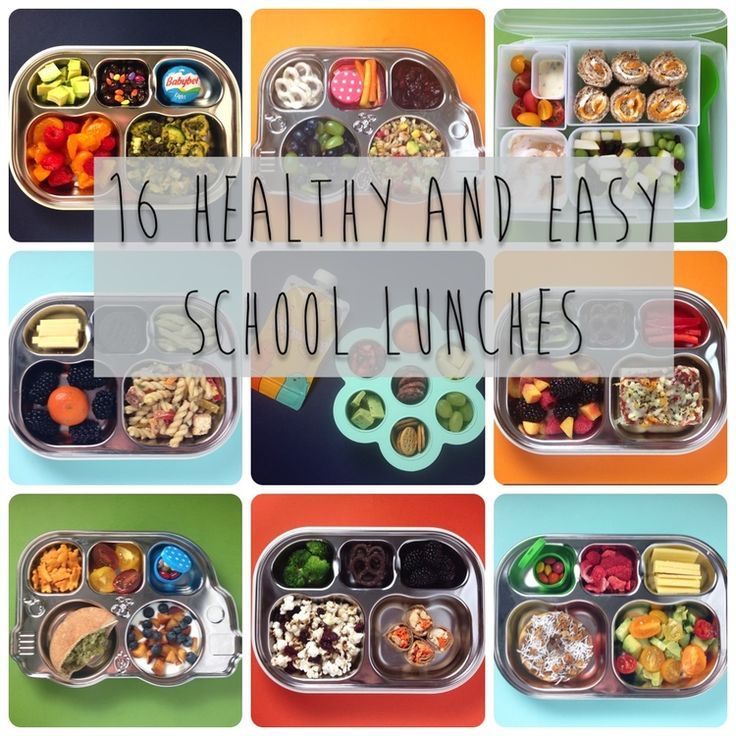 Healthy and Easy School Lunches