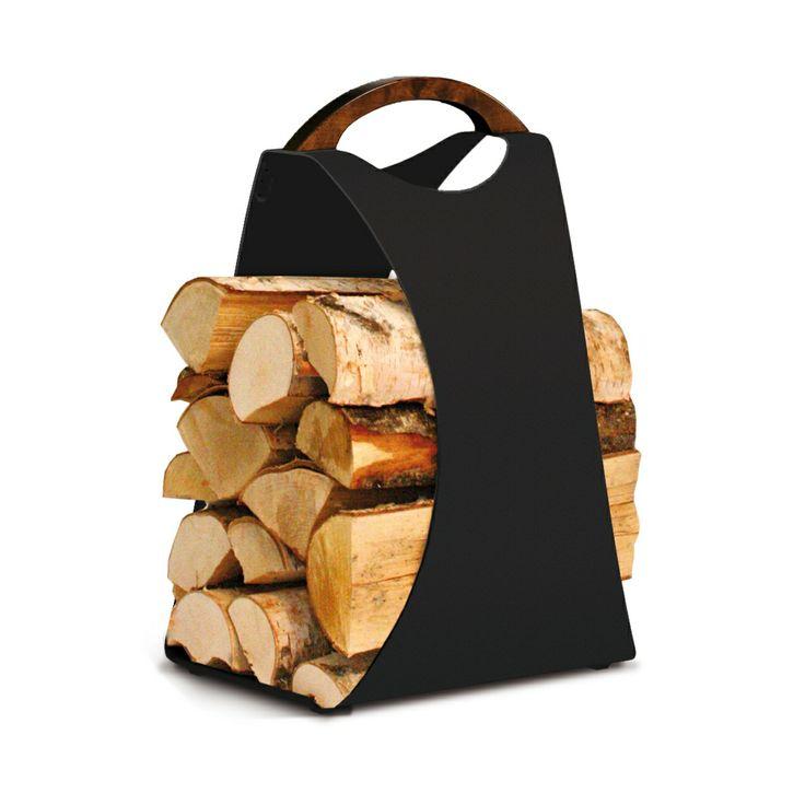 Puunkannin AIKA Hali pitää polttopuut komeassa järjestyksessä - AIKA Hali holder for firewoods