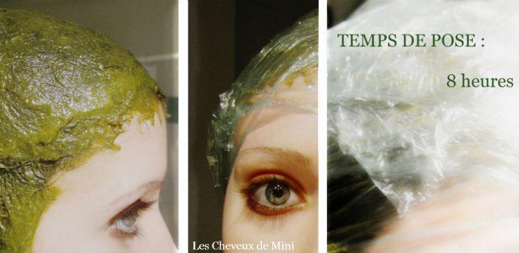 Les cheveux de Mini: Fortifier les repousses grâce au henné neutre. Masque au henné neutre fortifiant et nourrissant