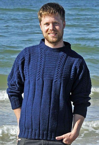 Strik a la carte II, Danish knitting book by Marianne Isager. Danish fisherman's.