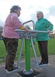 SeniorsAloud: PLAYGROUNDS FOR THE ELDERLY