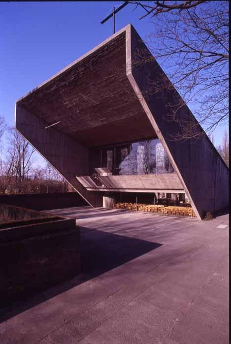 Juliaan Lampens 1966 OLV  Van Kerselare Chapel  Oudenaarde (Belgium)