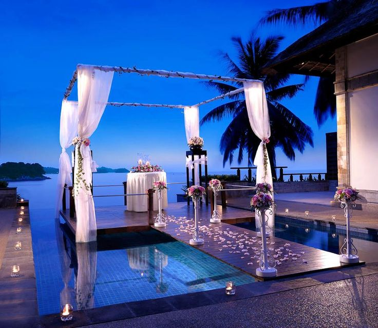 Romantic Villas on Stilts at Banyan Tree Bintan | Vacation Idea  )