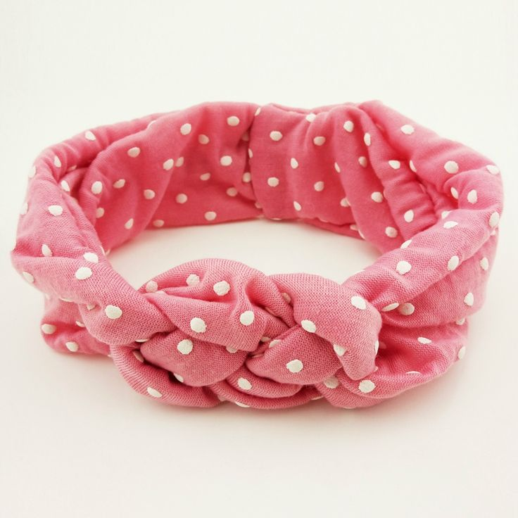 >> Click to Buy << Classic Fashion Children Baby Dot Hairband Turban Twist Knot Crossed Headband Headwear Hair Bands Hair Accessories Wholesale #Affiliate