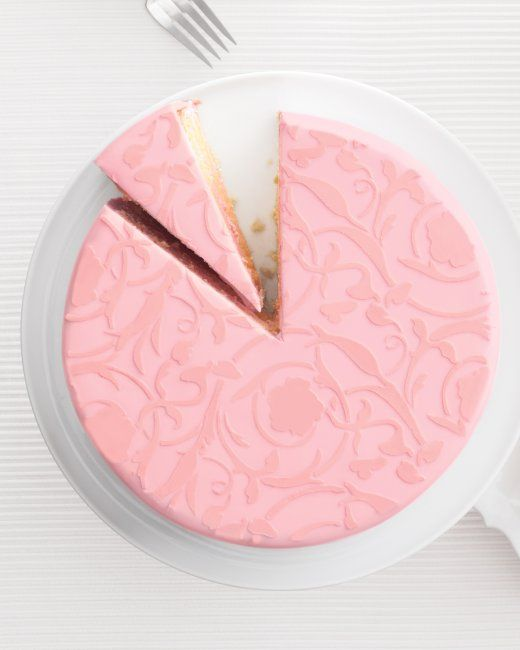 Rose Petal Cake. rose petal extract in butter cream makes give this cake a unique flavor. recipes linksat the top construction at the bottom