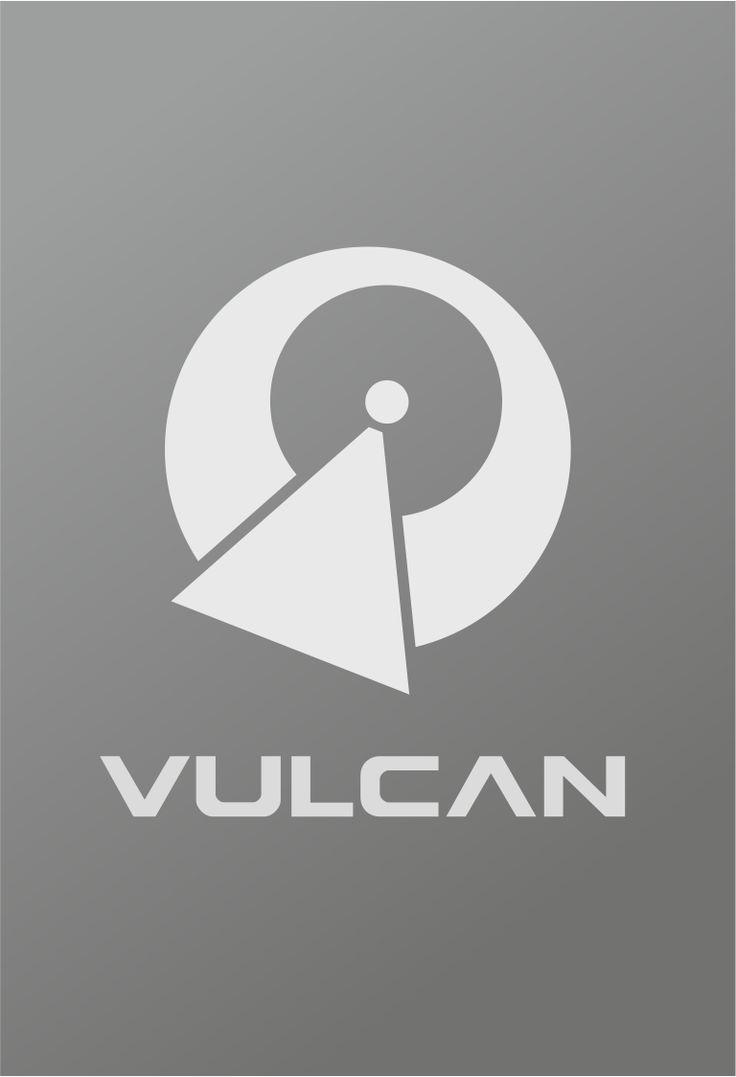 Star Trek Logo Vulcan Flat Design