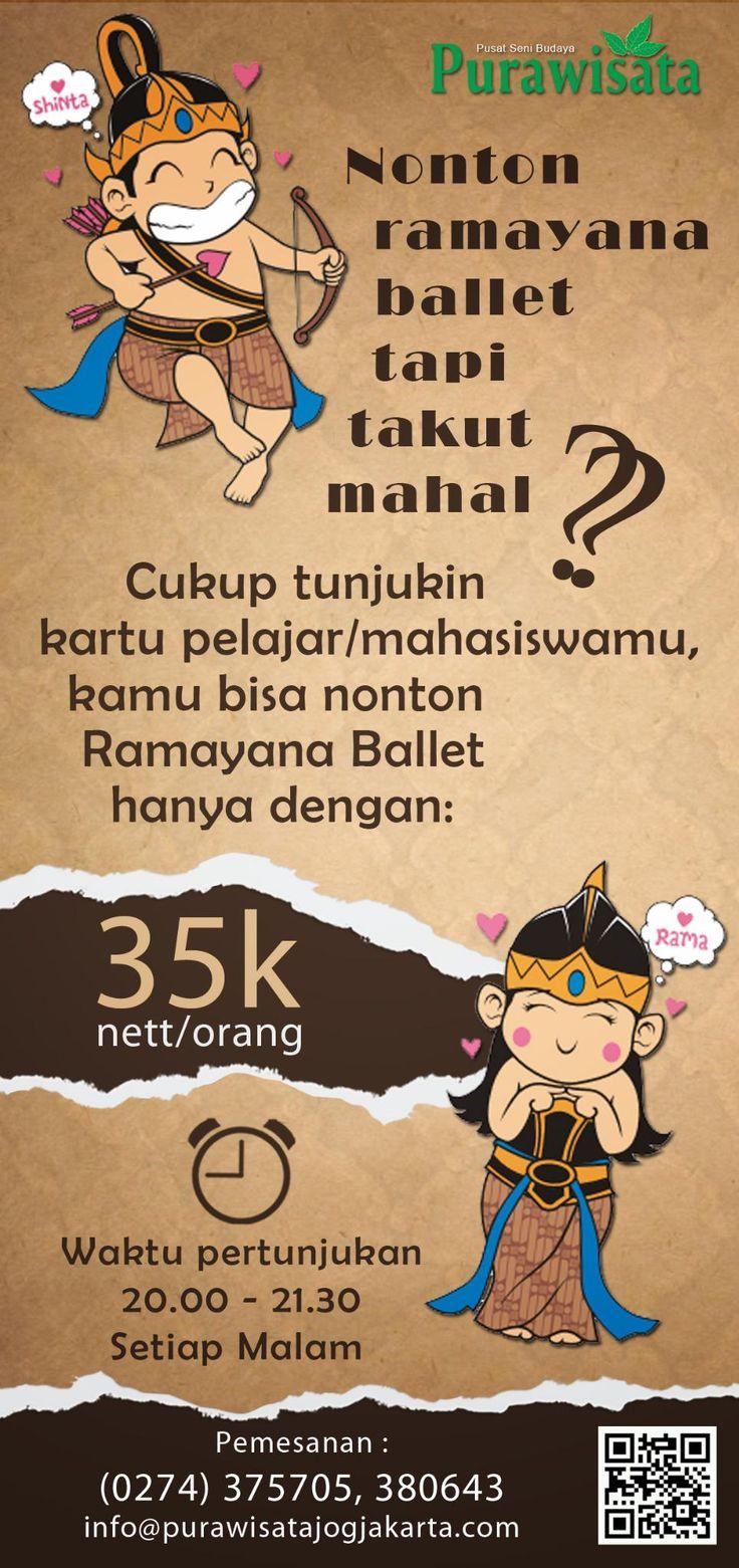 Ramayana Ballet Purawisata Amphi-Theatre Yogyakarta - Indonesia Book Now : 0274-375705/380643