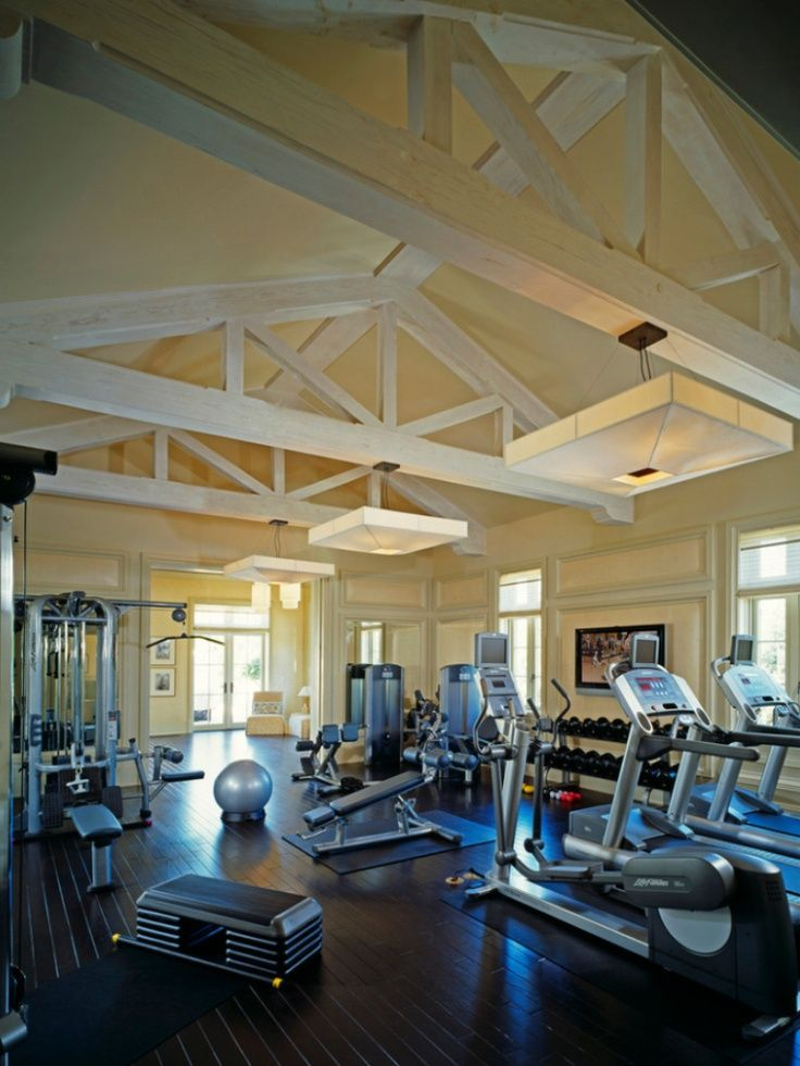 Home gym design ideas gyms and hallways