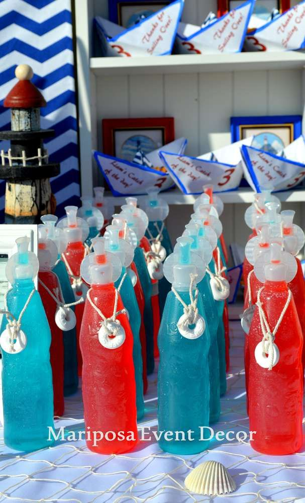 Nautical Birthday Party Ideas | Photo 13 of 15 | Catch My Party