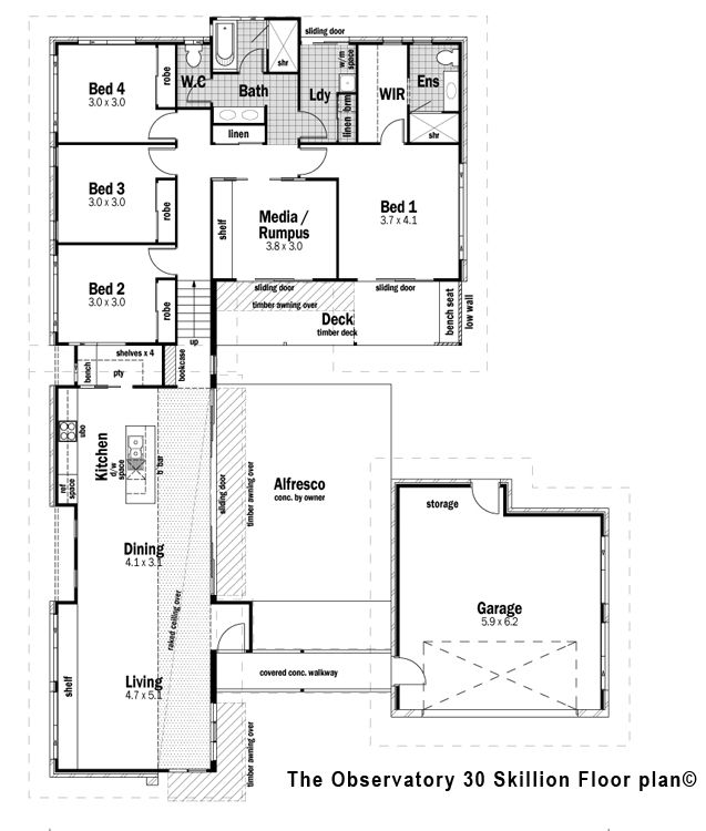 Slope Style Condo: Floor Plan Friday: Cutting Edge Lifestyle Features