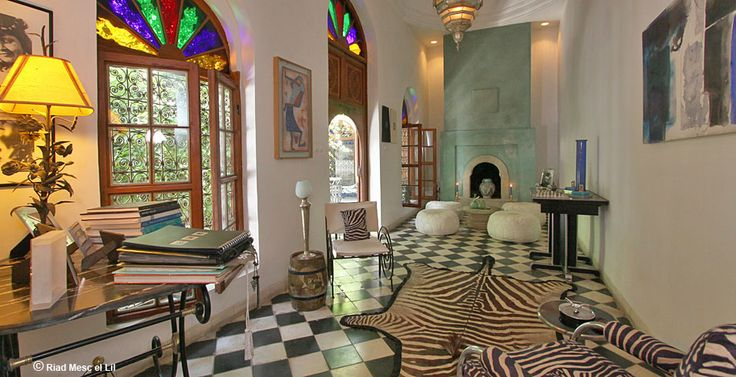 Riad Mesc el Lil - Site officiel du riad - Page Gallery Photos.  Morocco
