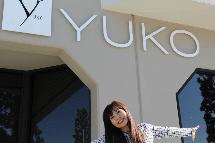 Miss Yuko Yamashita the fonder of YUKO Hair Straightening came to visit last week ALL THE WAY FROM JAPAN!
