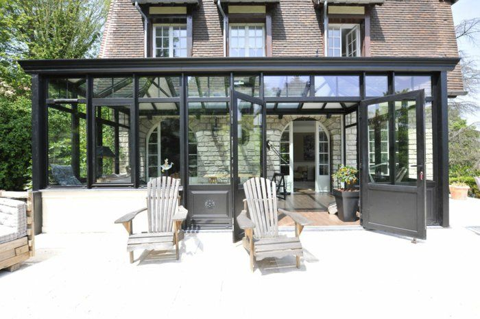 25 beste idee n over veranda alu op pinterest pergola alu carport alu en pergola terrasse. Black Bedroom Furniture Sets. Home Design Ideas