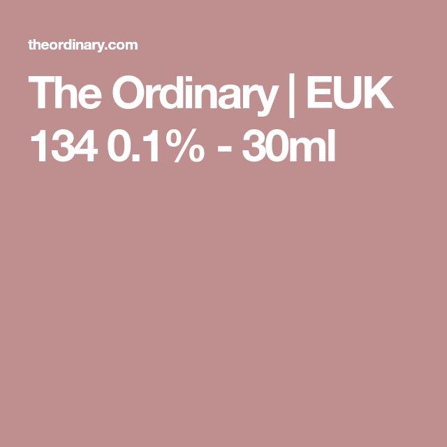 The Ordinary | EUK 134 0.1% - 30ml
