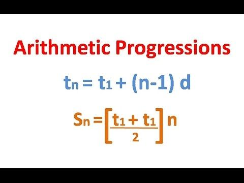 Best 25+ Arithmetic progression ideas on Pinterest Math formula - arithmetic sequence example