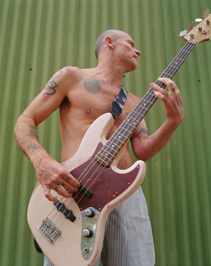 """""""It's just a magic bass.""""  Check out the new Flea Signature Jazz Bass"""