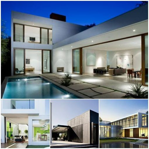 Exterior Home Designs - Contemporary Homes