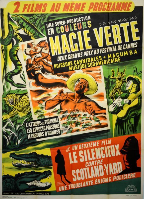 Magie verte, film de G. G. Napolitano, 1953 / ©Musée du Vivant - AgroParisTech