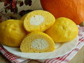 Pampuchy dyniowe z serem