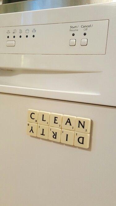 Magnet till diskmaskinen - clean / dirty :)