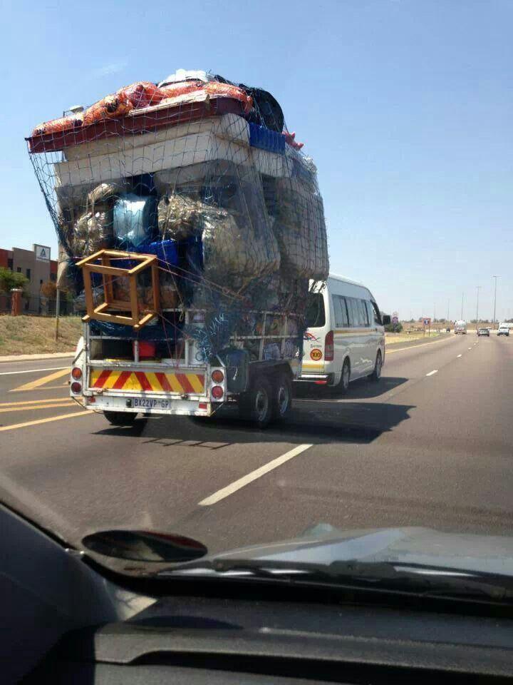 On the N1 near Pretoria SA