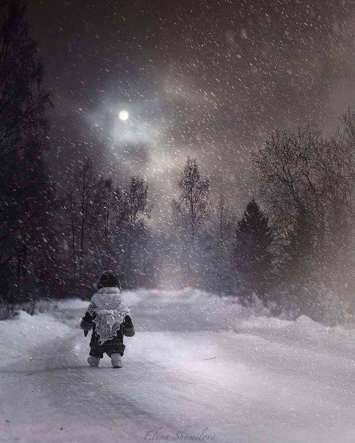 The snow way by Elena Shumilova on 500px
