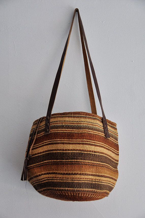 XL Sisal Bucket Market Bag