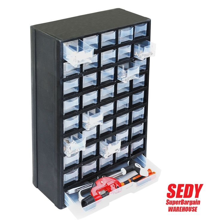 44.79$  Buy now - http://alicwh.shopchina.info/go.php?t=32671536888 - New 41 Drawers Storage Cabinet Tool Box Chest Case Plastic Organizer Toolbox Bin  #aliexpress