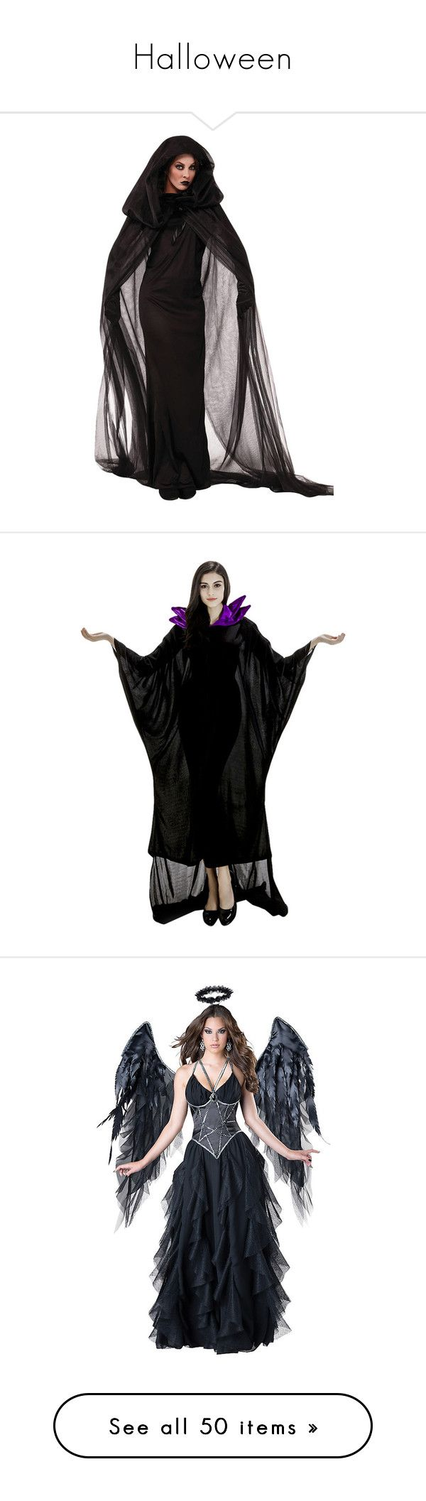 halloween by pokemongirl123 liked on polyvore featuring costumes halloween dresses - Salem Witch Halloween Costume