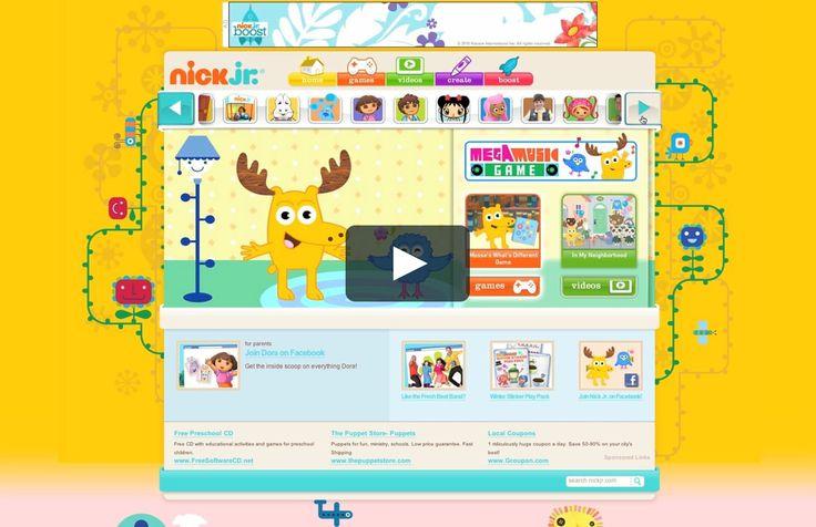 Kids Jr Games Kids Games Preschool Kids Games Nick Jr Games Free Games For Kids Free online preschool games nick jr