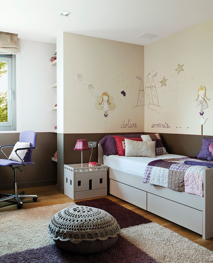Personalizada con telas y pintura  La pintura y los toques personales en mobiliario y complementos pueden convertir su habitación en su refu...