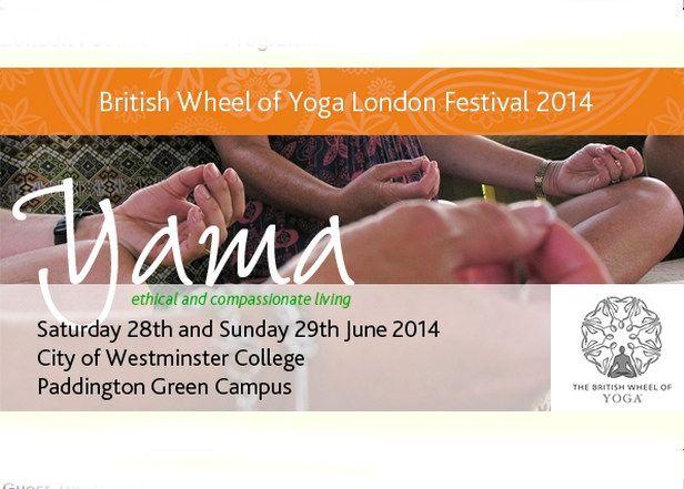 British Wheel of Yoga Festival in London #community #yoga #uk #vegetarian #ethics