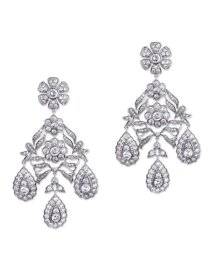 Kenneth Jay Lane Gunmetal Diamond Clip Earrings Jet uprdekH