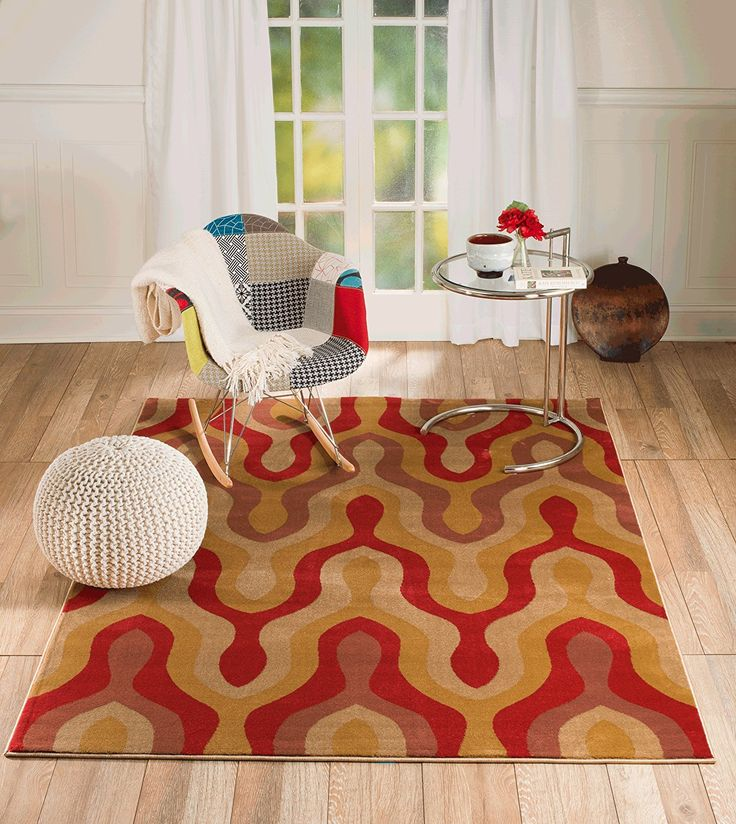Summit Gulistanno. 2734 Terra-cotta Transitional Area Rug Modern Abstract Rug (2x3 scatter door mat size) >>> Insider's special review you can't miss. Read more  : Free Home and Kitchen