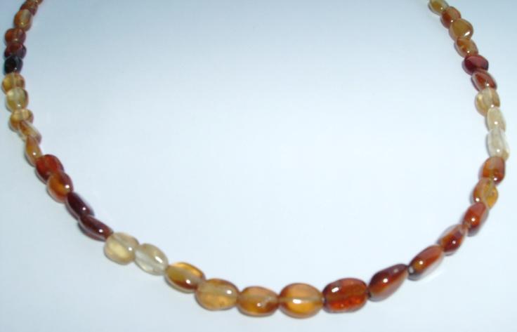 granat necklace